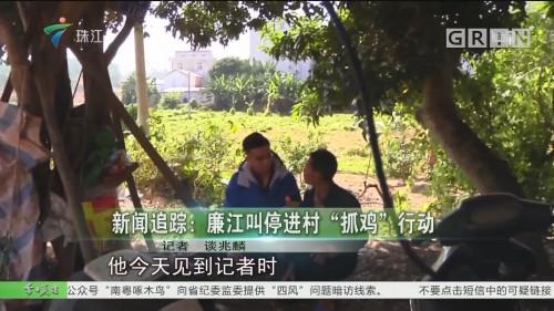 """新闻追踪:廉江叫停进村""""抓鸡""""行动"""