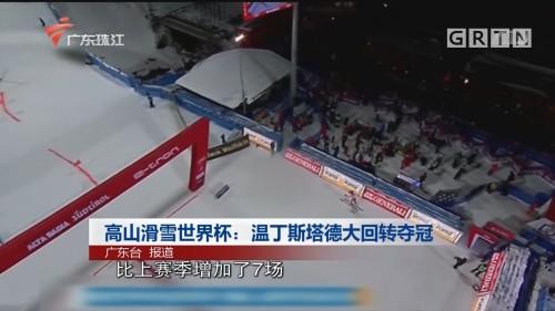 高山滑雪世界杯:温丁斯塔德大回转夺冠