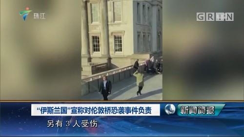"""""""伊斯兰国""""宣称对伦敦桥恐袭事件负责"""