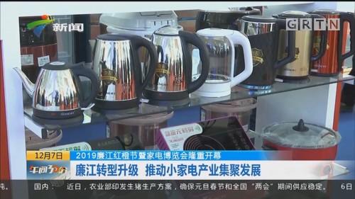 2019廉江红橙节暨家电博览会隆重开幕:廉江转型升级 推动小家电产业集聚发展
