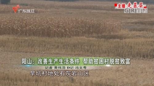 阳山:改善生产生活条件 帮助贫困村脱贫致富