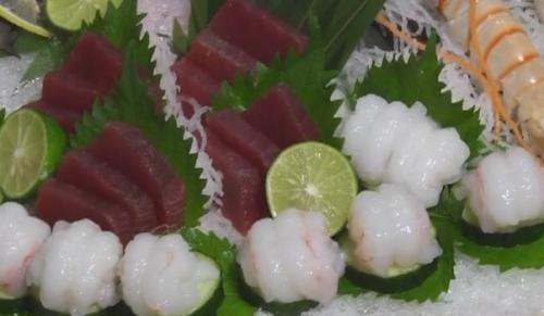 精品海鲜刺身