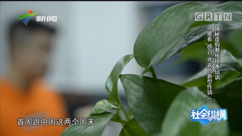 "[HD][2019-12-06]社会纵横:揭秘虚假教练技术培训 披着""感召""外衣的新型传销(二)"