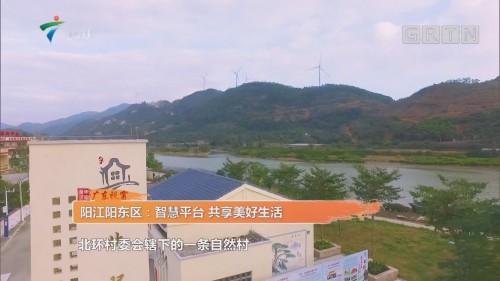 阳江阳东区:智慧平台 共享美好生活