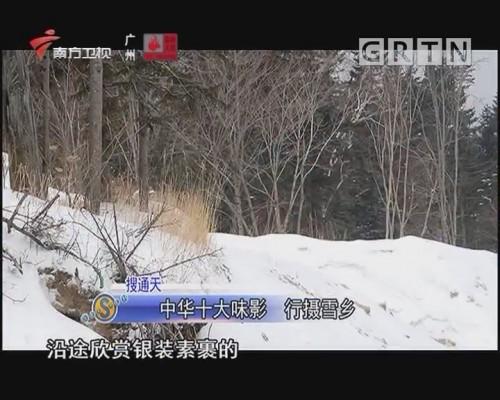 中华十大味影 行摄雪乡