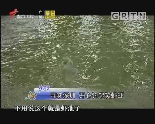 尋味深圳 開心釣起笑蝦蝦