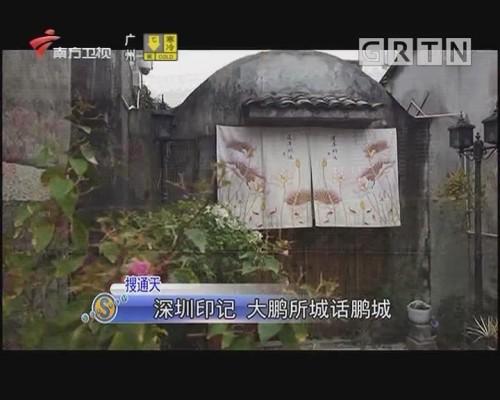 深圳印記 大鵬所城話鵬城