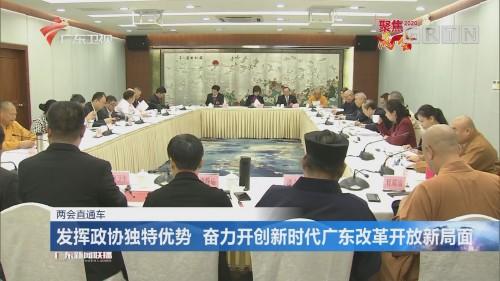 发挥政协独特优势 奋力开创新时代广东改革开放新局面