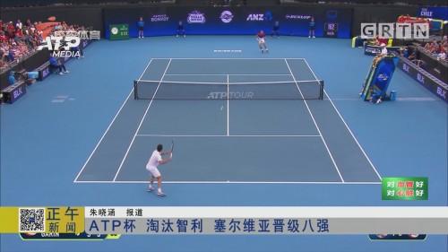 ATP杯 淘汰智利 塞尔维亚晋级八强