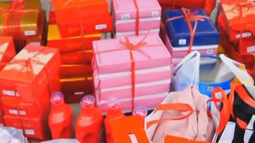 感動!武漢市民為廣東醫療隊送物資