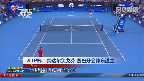 ATP杯:纳达尔负戈芬 西班牙会师东道主