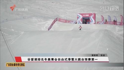 谷爱凌排名冬奥青会自由式滑雪大跳台预赛第一