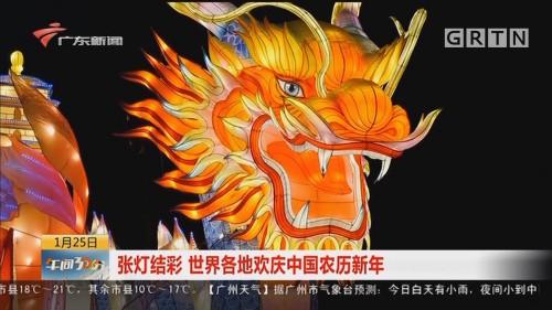 张灯结彩 世界各地欢庆中国农历新年