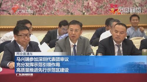 两会直通车:马兴瑞参加深圳代表团审议 充分发挥示范引领作用 高质量推进先行示范区建设