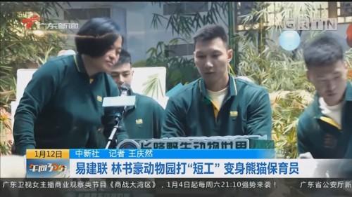 """中新社:易建联 林书豪动物园打""""短工""""变身熊猫保育员"""