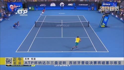 ATP杯纳达尔三盘逆转 西班牙晋级决赛将碰塞尔维亚
