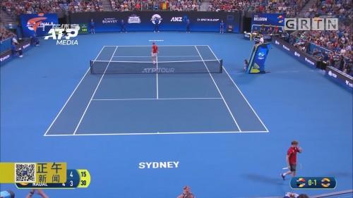 ATP杯纳达尔负戈芬 双打补过 西班牙会师东道主