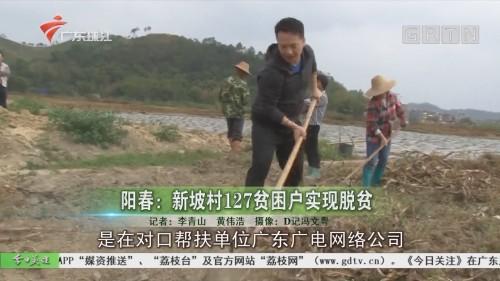 阳春:新坡村127贫困户实现脱贫