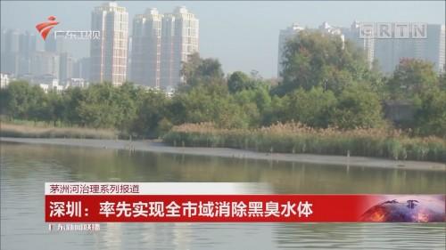 深圳:率先实现全市域消除黑臭水体