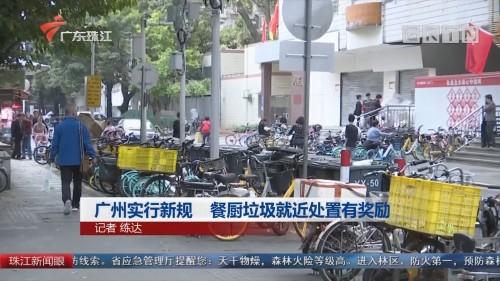 广州实行新规 餐厨垃圾就近处置有奖励