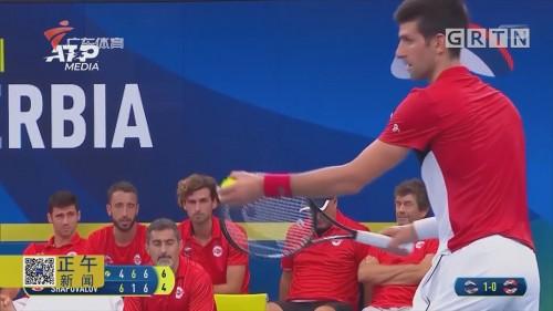 德约领衔塞尔维亚横扫加拿大 半决赛将碰俄罗斯