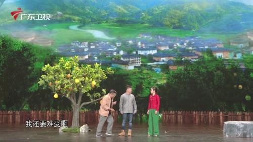 李文启、尚大庆、李木子演绎《柚子树的故事》,一展新农村风貌