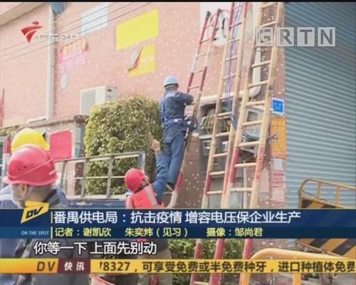 (DV现场)番禺供电局:抗击疫情 增容电压保企业生产