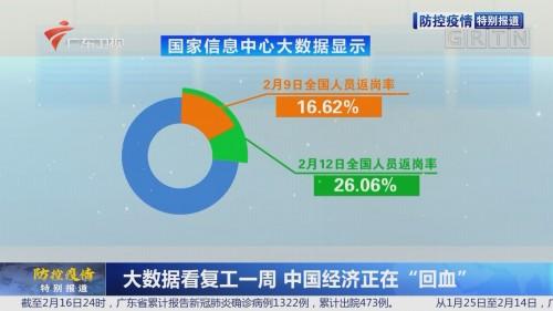 """大数据看复工一周 中国经济正在""""回血"""""""