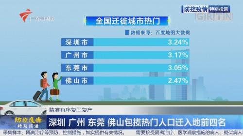 大数据看广东复工复产