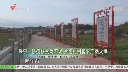 兴宁:防疫扶贫两不误 贫困村网售农产品火爆