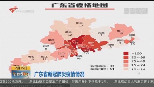 广东省新冠肺炎疫情情况