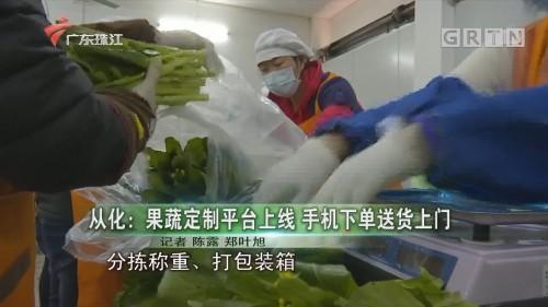 从化:果蔬定制平台上线 手机下单送货上门
