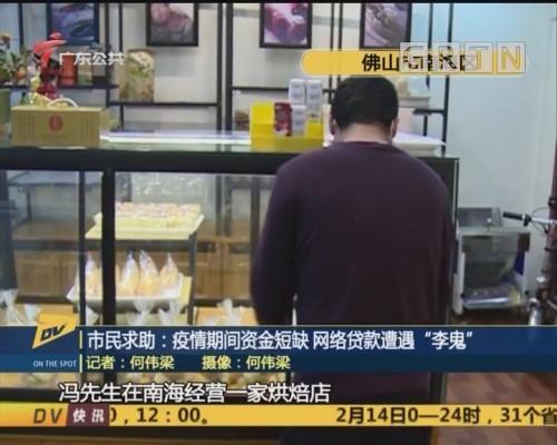 """(DV现场)市民求助:疫情期间资金短缺 网络贷款遭遇""""李鬼"""""""