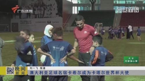 澳大利亚足球名宿卡希尔成为卡塔尔世界杯大使
