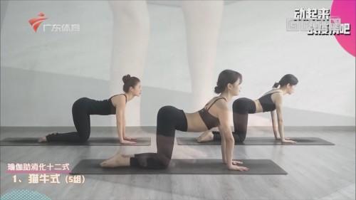 居家运动有妙招:瑜伽助消化十二式