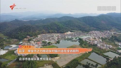 云浮:举全市之力推动乡村振兴走在全省前列