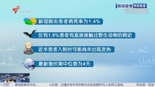 防控疫情最前线 钟南山团队论文指出:最新潜伏期中位数为4天