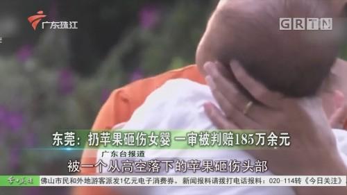东莞:扔苹果砸伤女婴 一审被判赔185万余元