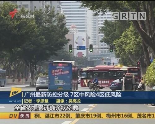 (DV现场)广州最新防控分级 7区中风险4区低风险