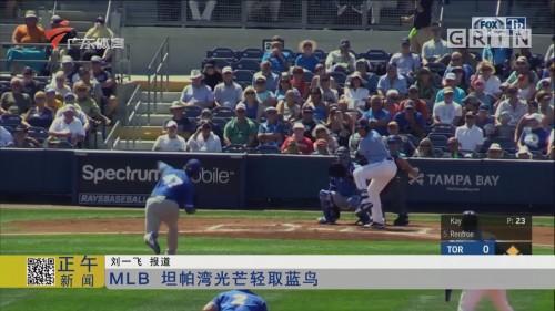 MLB 坦帕湾光芒轻取蓝鸟