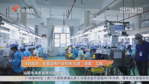 """深圳龍崗:全面實施產業幫扶 打造""""造血""""工程"""