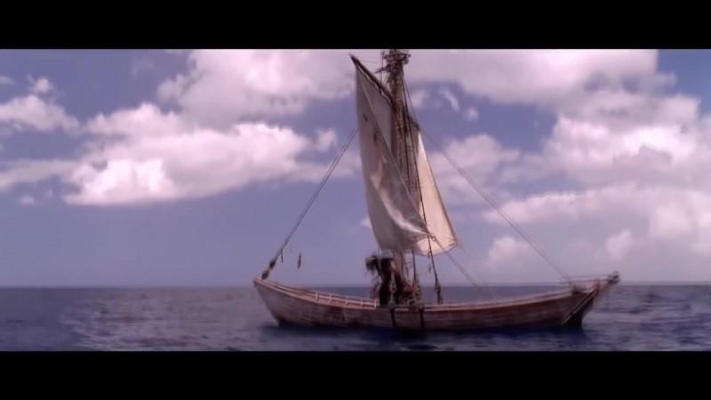 你们还记得14年前的杰克船长出场情景吗?