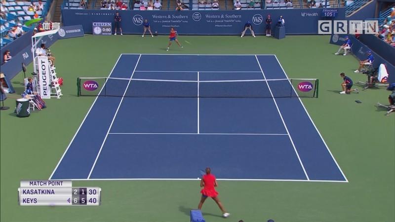WTA辛辛那提赛 大威、科贝尔次轮出局