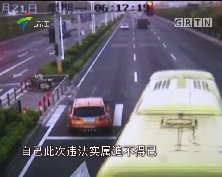 珠海:女子驾车闯红灯 交警为何撤罚单?