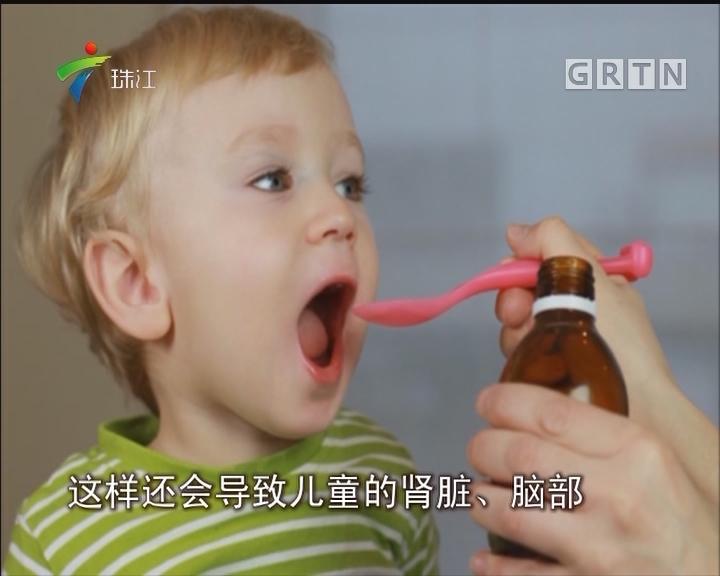 儿童感冒别乱吃药 用药不当会导致耳聋