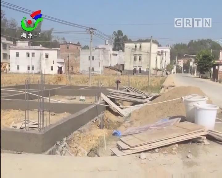梅州:五华县周江镇:打农田主意建房被喊停