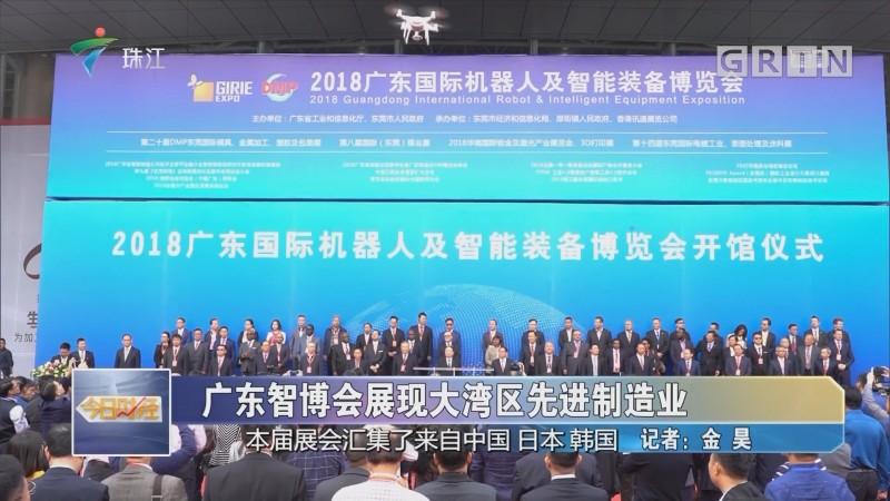 广东智博会展现大湾区先进制造业