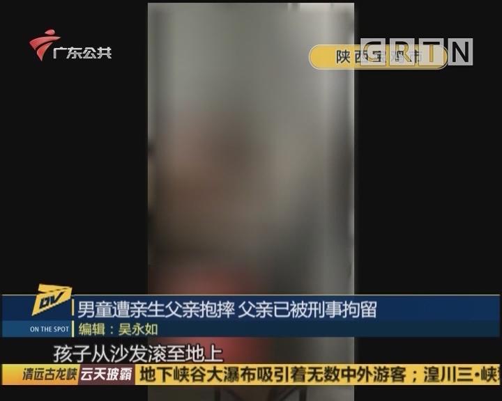 男童遭亲生父亲抱摔 父亲已被刑事拘留