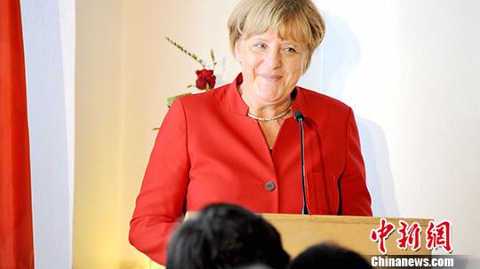 德国总理默克尔。