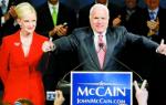 美参议员麦凯恩被诊断出脑癌 曾于2008年竞选总统